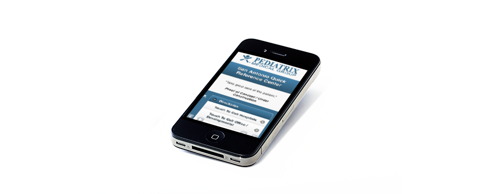 New mobile quick reference site for Pediatrix