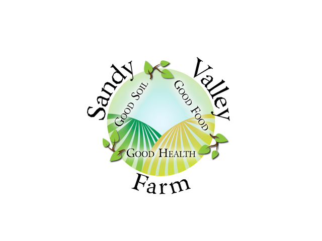 Sandy Valley Farm logo design