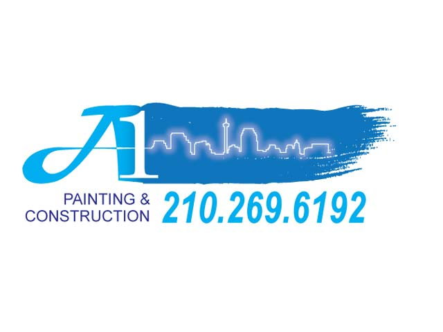 A1 Painting Logo Design