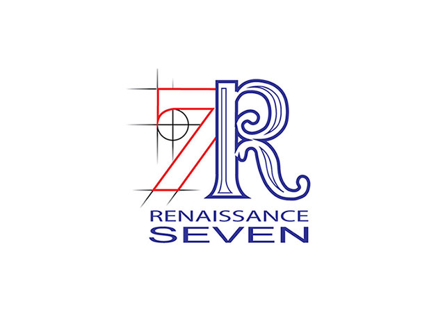 Renaissance 7 Construction logo design