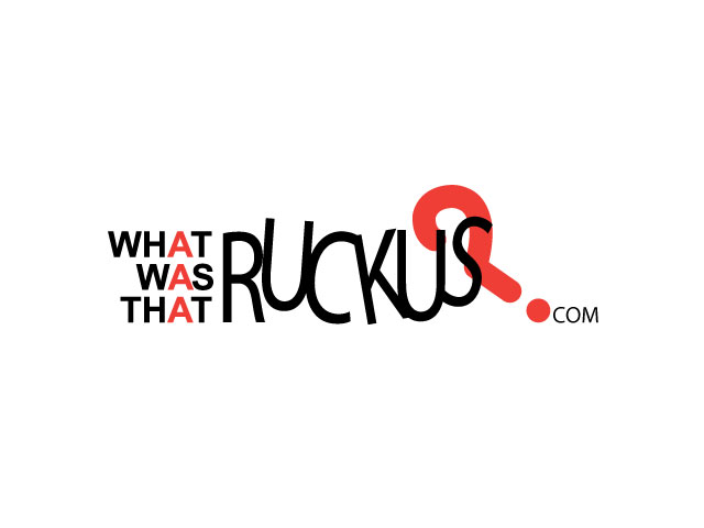 What Was that Ruckus? logo design